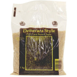 Demerara Stlye Pure Cane Brown Sugar, 1KG