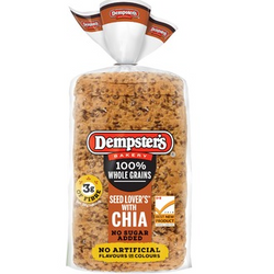 Dempster's® 100% Whole Grains Seed Lover's Bread with CHIA