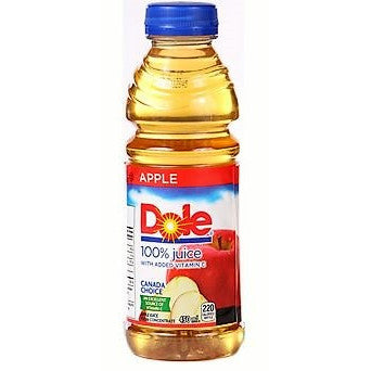 Dole Apple Juice, 450ML