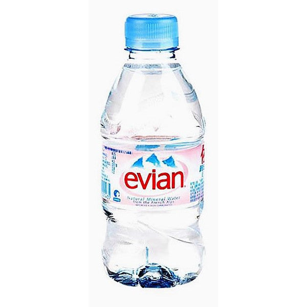 Evian Natural Spring Water, (20x330ML)