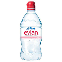 Evian Natural Spring Water, (12x750ML)