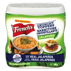 French's Crunchy Toppers - Jalapeno 140g