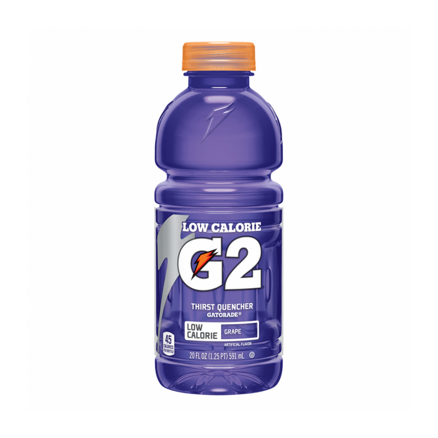 G2 LOW calorie Gatorade Grape  591mL