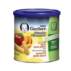 Gerber Lil'Crunchies Apple Sweet Potato, 42g