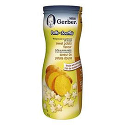 Gerber Puffs Sweet Potato Flavour, 42G