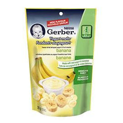 Gerber Yogurt Melts Banana, 28g