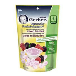 Gerber Yogurt Melts Mixed Berries, 28g