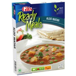 Gits Aloo Matar Ready Meals, 300G