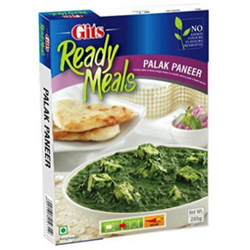 Gits Palak Paneer Ready Meals, 285G