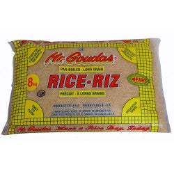 Mr.Goudas  Par Boiled Long Grain Rice 8Kg