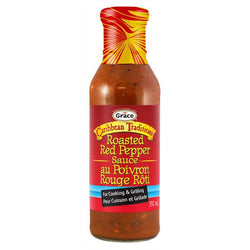 Grace Caribbean Traditions Roasted Red Pepper Sauce 350ml