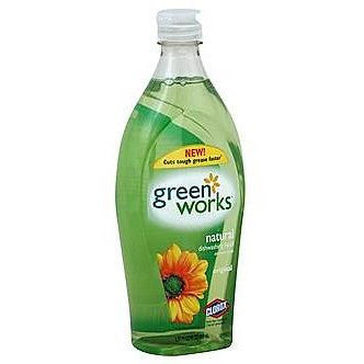 Green Works Dishwashing Liquid Original 650mL