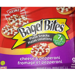 Bagel Bites Heinz Hot Bites Cheese & Pepperoni Pizza, 198G