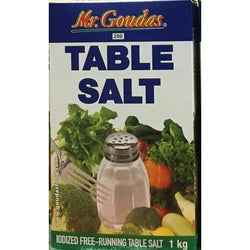 Mr. Goudas Table Salt 1Kg