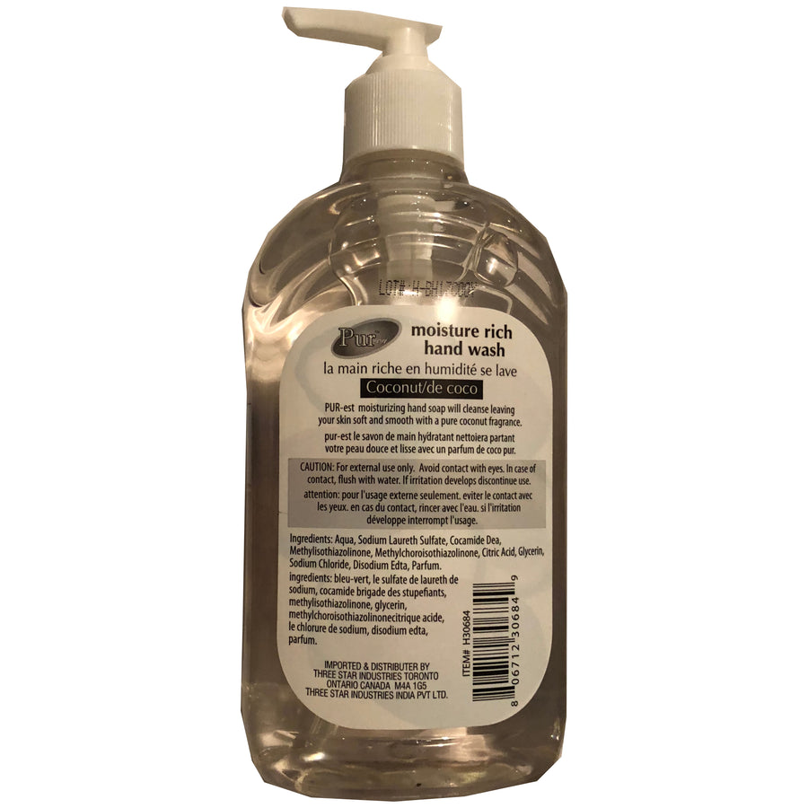 PUR-est Liquid Soap Coconut 500ml