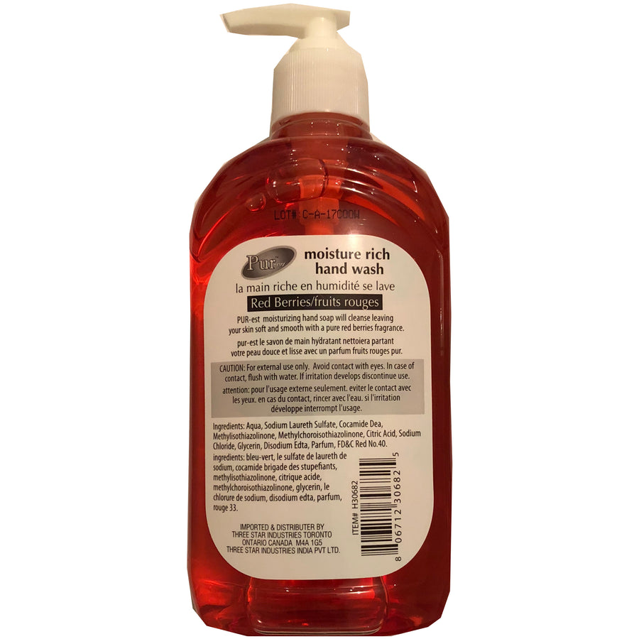PUR-est Liquid Soap Red Berries 500ml