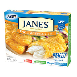 JANES English Style Fish (Frozen) 450G
