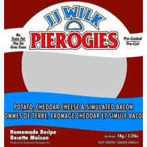 JJ Wilk Pierogies Potatoes, Cheddar and Bacon 2lbs