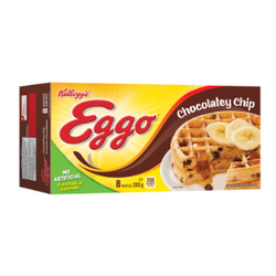 Kellogg's Eggo Chocolate Chip (8 Waffles)