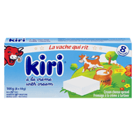 Kiri Cream Cheese Spread, 144G (8x18G)