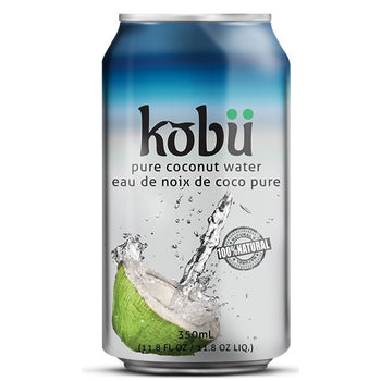 Kobu Pure Coconut Water, 350ML