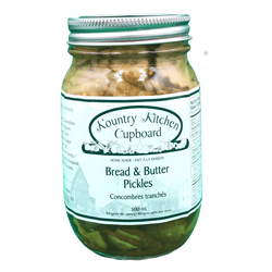 Kountry Kitchen Cupboard Bread & Butter Pickles 500mL