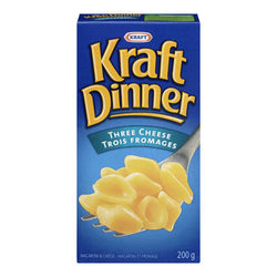 Kraft Three Cheese Macaroni and Cheese, 200G