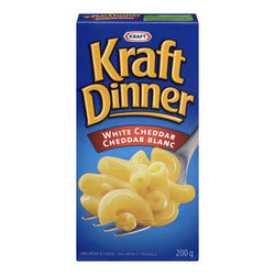 Kraft White Cheddar Macaroni & Cheese, 200G