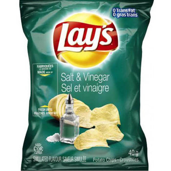 Lay's Slat & Vinegar 40G