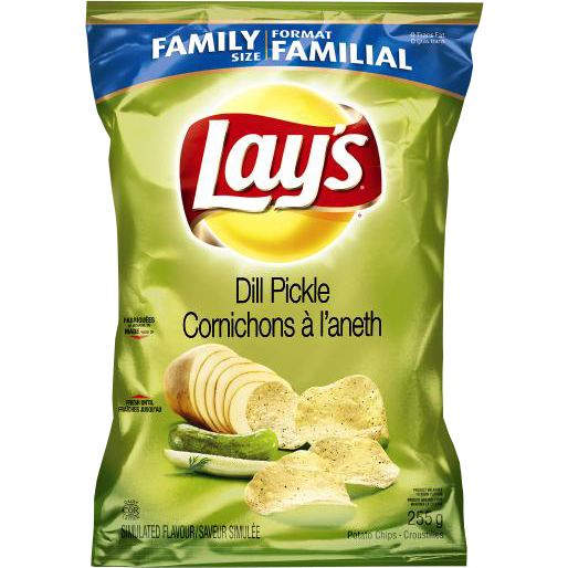 Frito Lay's Dill Pickle (Family Size) 255G