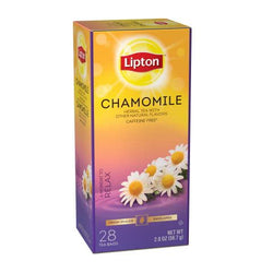 LIPTON Chamomile Herbal Tea (28 Packs)