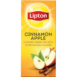 LIPTON Cinnamon Apple Herbal Tea (28 Packs)