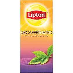 LIPTON DECAFFEINATED Black Tea (28 Packs)