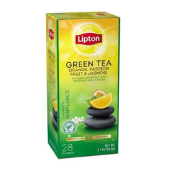 LIPTON Orange Passion Fruit Jasmine Green Tea (28 Packs)
