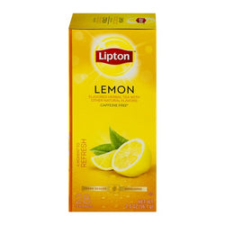 LIPTON Lemon Flavored Herbal Tea (28 Packs)