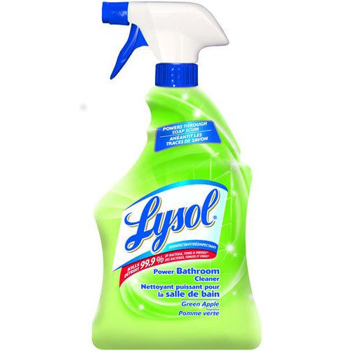 Lysol Power Bathroom Cleaner Green Apple (Soap Scum) 650mL