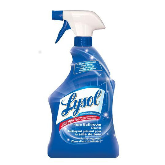 Lysol Power Bathroom Cleaner Spring Waterfall (Soap Scum) 650ml