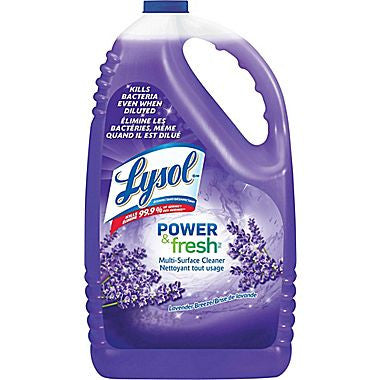 Lysol Power & Fresh Multi Surface Cleaner Lemon  4.25L