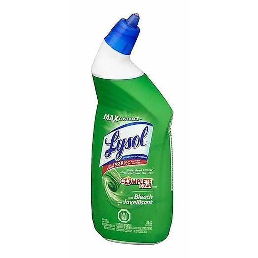 Lysol Toilet Bowl Cleaner With Bleach 710mL