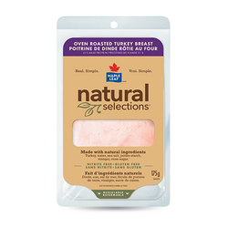 Maple Leaf Natural Selection Oven-Roasted Turkey Breast 175G