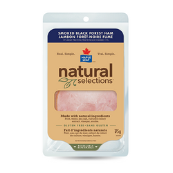 Maple Leaf Natural Selection Smoked Black-Forest Ham 175G