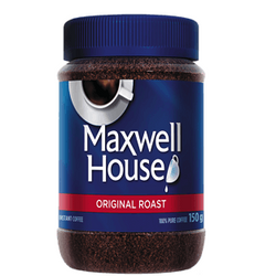 Maxwell House Instant Coffee Original Roast 150g
