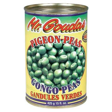 Mr. Goudas Green Pigeon Peas 444ML
