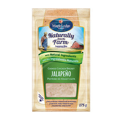 Maple Lodge Farms Jalapeno Chicken Breast  Sliced 175G