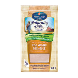Maple Lodge Farms Oven Roasted Chicken Breast Sliced 175G