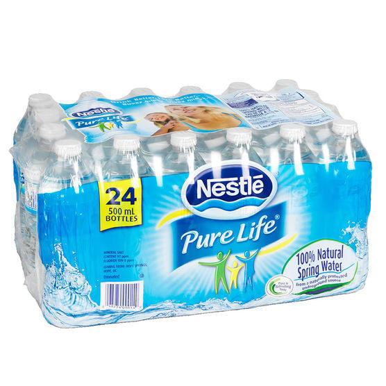Nestle Water Bottles 24x500ml