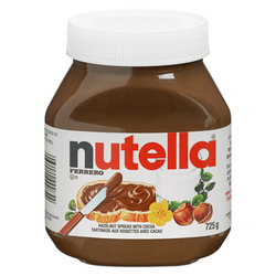Nutella Hazelnut Spread with skim milk and Cocoa 725G