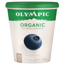 Olympic Organic Blueberry Yogurt 650G