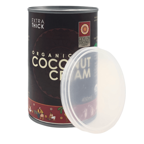 Organic Coconut Cream 30% M.F. 400ML