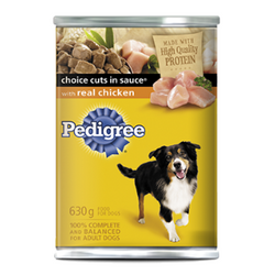 Pedigree Choice Cuts in Sauce with Real Chicken, 630g